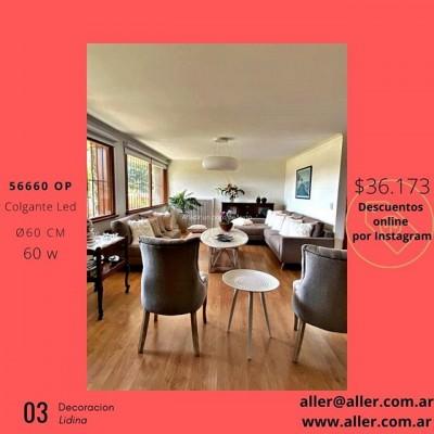 COLGANTES LED 56660 OP VARIAS MEDIDAS REGULABLE EN ALTURA #led #iluminacion #decoracion #comedor #cocinas #living #dormitorios  #deco  #diseñodeinteriores #arquitectura #argentina 🌐-www.aller.com.ar 📩-aller@aller.com.ar 🚚-Envios a todo el país ☎ +54 11 4816.-4293 ☎ +54 11 4811-6432 📱 +54 911-4163-1890 🌎 Libertad1252(1012) Buenos Aires-Argentina