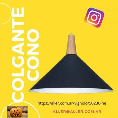 COLGANTE CONICO PARA E27 LAMPARAS GLOBO LED/VINTAGE 🌐-www.aller.com.ar 📩-aller@aller.com.ar 🚚-Envios a todo el país ☎ +54 11 4816.-4293 ☎ +54 11 4811-6432 📱 +54 911-4163-1890 🌎 Libertad1252(1012) Buenos Aires-Argentina  #led #iluminacion #decoracion #decor  #revistas de decoracion argentina #decoracion #deco #diseño #diseñodeinteriores #arquitectura  #iluminacion #comedor #cocinas #living #dormitorios